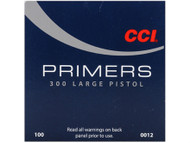 CCI Large Pistol Primers #300 per 100