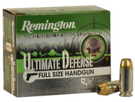 Remington Ultimate Defense .40S&W BJHP 165gr per 20