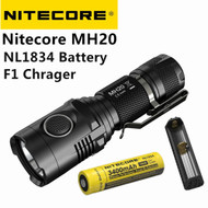 Nitecore Mt10C + Battery + F1 charger
