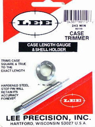 Lee Case Length Gauge & Shell Holder .243 Win