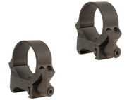 Leupold QRW Quick-Release Weaver-Style Rings 30mm Medium Matte