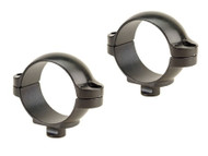 "Leupold Quick-Release Rings 1"" Super-Low Matte"