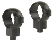 "Leupold Quick-Release Rings 1"" High Matte"