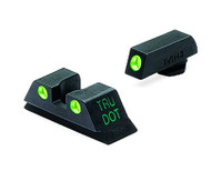 Meprolight Glock Tru-Dot® Night Sight Glock 9mm, .357 Sig, .40 S&W . 45 GAP Set