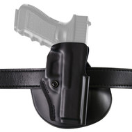 Safariland Model 5198 Open Top Concealment Paddle/Belt Loop Holster with Detent Glock