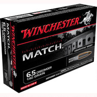 Winchester Match 6.5 Creed Ammunition 140gr per 20