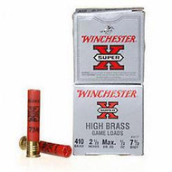 "Winchester Super-X .410 2-1/2"" #7.5 Shot 1/2oz per 25"