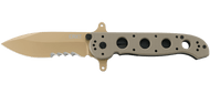 CRKT M21-14DSFG Large Drop Point Special Forces Desert Tan G10