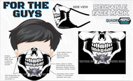 Black Tactical OPS Hygiene Masks /Washable and Re useable face mask