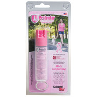 Sabre Red Pink Protector Dog Spray with Key Ring