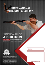 Handle and Use of a Shotgun for Business Purposes (U/S 123514)