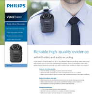 Philips Video Tracer  Body-worn Recorder