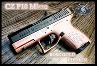 CZ P10 Micro Rose Gold Edition