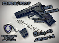 CZ P09 / P10F Mag Extensions (9mmP + 5 / .40S&W + 4)