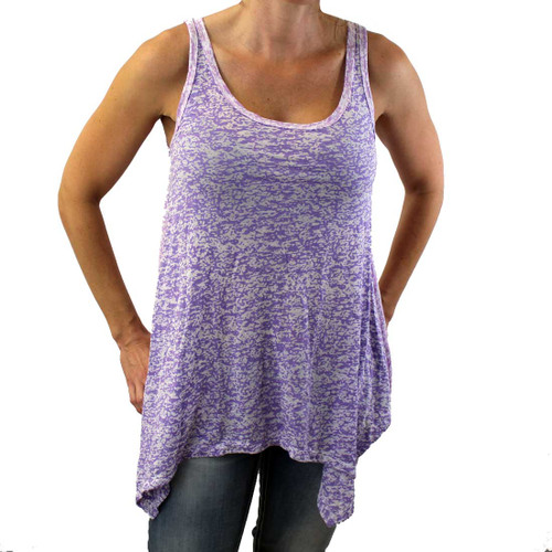 Lavender and pink tank top.