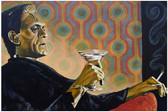 Melancholy Monster by Mike Bell Tattoo Fine Art Print Frankenstein