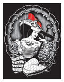Ian McNiel Queen Mary Silkscreen Print