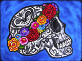Melody Smith Flower Crown - Canvas Giclee