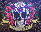 Shayne of the Dead Memento Flowers - Canvas Giclee