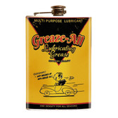 Greaze All Kustom Culture Stainless Steel Flask
