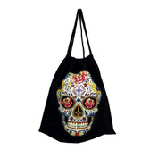 Day of the Dead drawstring backpack sack.