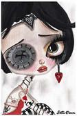 Girly Rude by Dottie Gleason Fine Art Print