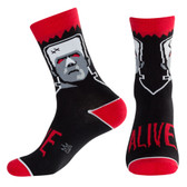 Men's or Women's Crew Socks Frankenstein Monster