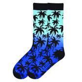 K. Bell Men's Palm Tree Socks