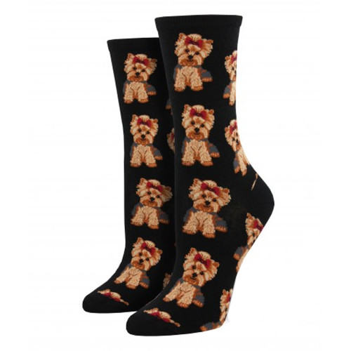 Yorkshire Terrier Puppy Dog Women's Crew Socks