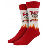 Men's Tapatio Hot Sauce Novelty Socks