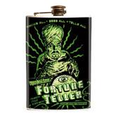 Fortune Teller Stainless Steel Flask