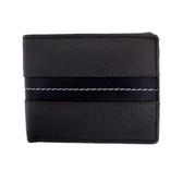 Men's brown leather wallet.