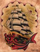 Aaron Cox Ahoy Canvas Giclee