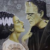 Mike Bell Canvas Giclee - Flirtationship