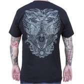 Refuge by Tyler Bredeweg Men's Tattoo Art Tee Shirt