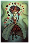 Diana Levin - Queen of Hearts - Fine Art Print