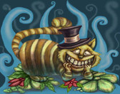 Diana Levin - Cheshire Cat - Canvas Giclee