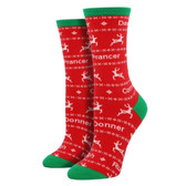 Dasher Dancer Socks