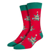 Men's Pot Lovers Xmas Socks
