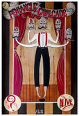 A Pentangle Cavalcade by Mcbiff Fine Art Print Retro Carnival Freakshow