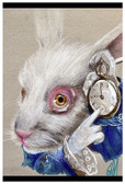 White Rabbit Time by Manuela Lai Fine Art Print Alice in Wonderland
