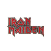 Iron Maiden Band Logo Enamel Pewter Pin Rock and Roll Clothing Accessory PC505