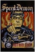Speed Demon by Mike Bell Hot Rod Frankenstein Fine Tattoo Art Print