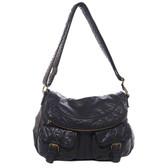 The Annabell Messenger Black Purse Cross Body Bag
