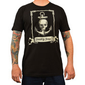 Deadly Seas Skull and Anchor Annex Clothing Men's Tee Shirt