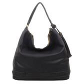 The Aida Tote Hobo Black Purse Shoulder Bag Tote