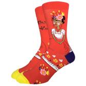 Men's Crew Socks Frida Kahlo