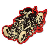 Shawn Dickinson Hot Rod Honey Pin Up Girl Patch Embroidered Iron On Applique