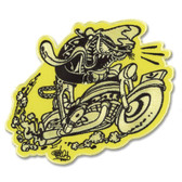Shawn Dickinson Cycle Freak Patch Embroidered Iron On Applique