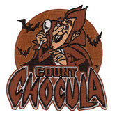 General Mills Count Chocula Vampire Cereal Monster Patch Embroidered Iron On Applique